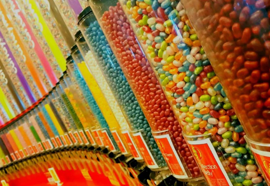 arredamenti negozi caramelle